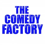 THE COMEDY FACTORY skyline logo_vierkant